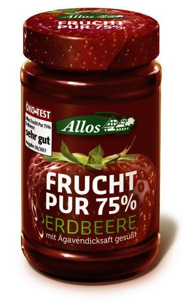 Frucht Pur 75% Erdbeere