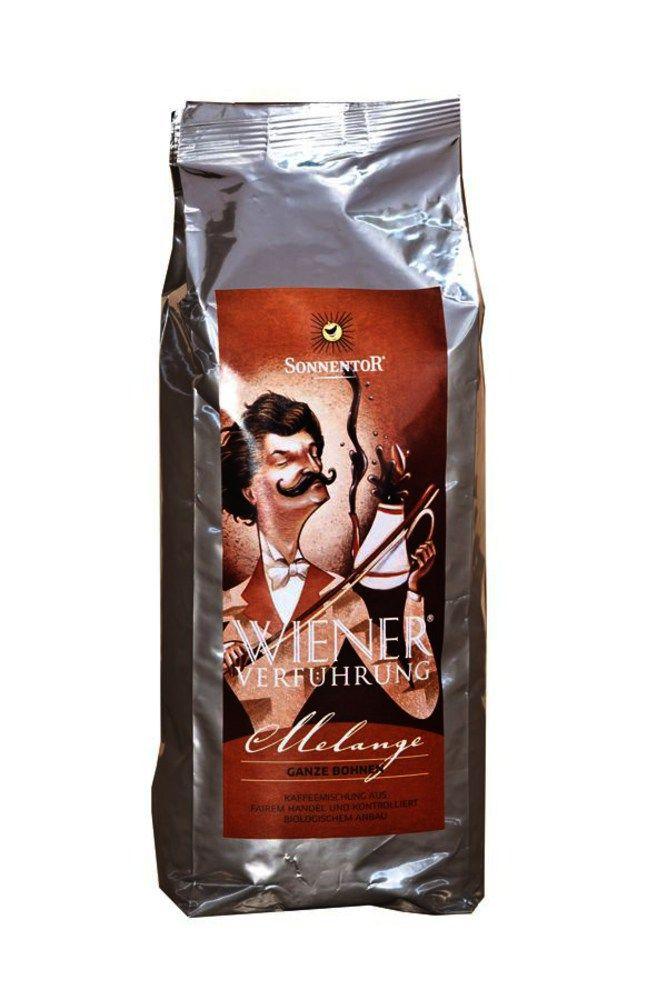 Melange Kaffee ganze Bohne Wiener Verführung® bio