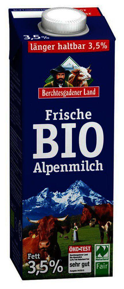 BGL Fr. Bio-Alpenmilch länger haltbar 3,5% Fett