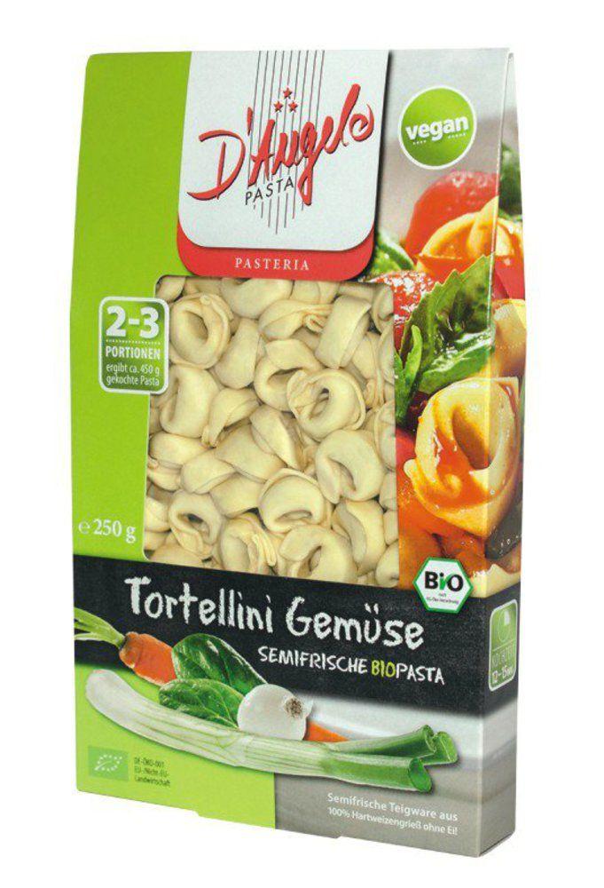 Tortellini Gemüse, Teigware, gefüllt