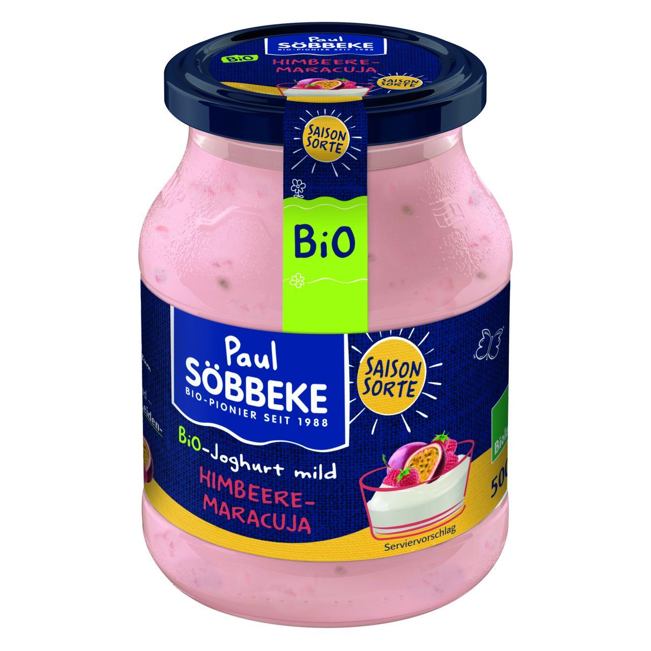 Saisonjoghurt Himbeere Maracuja