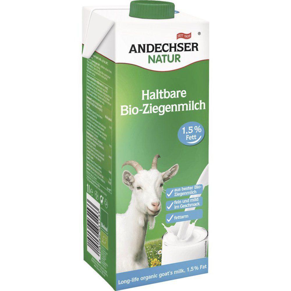 AN Haltbare Bio-Ziegenmilch fettarm 1,5%
