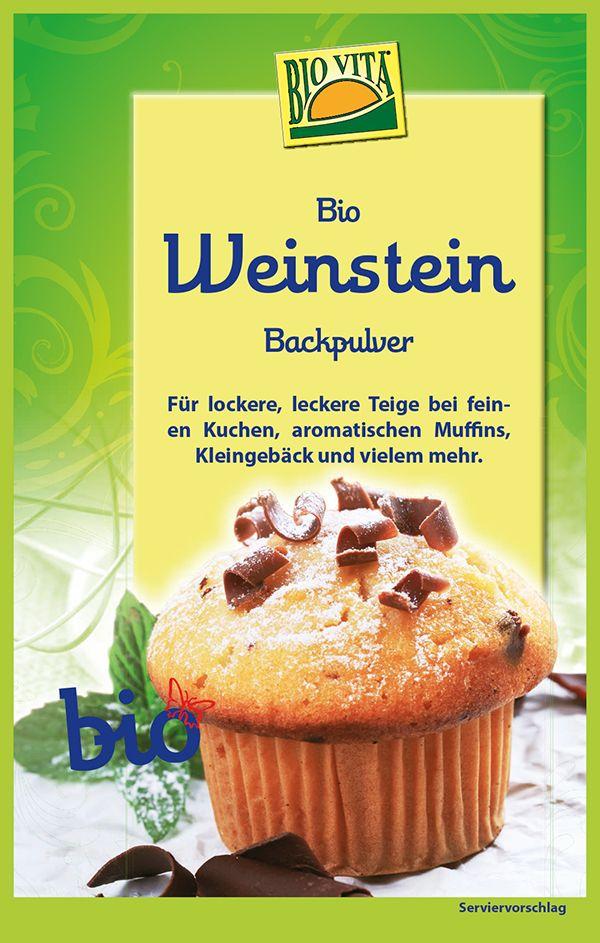 BIO Weinstein-Backpulver