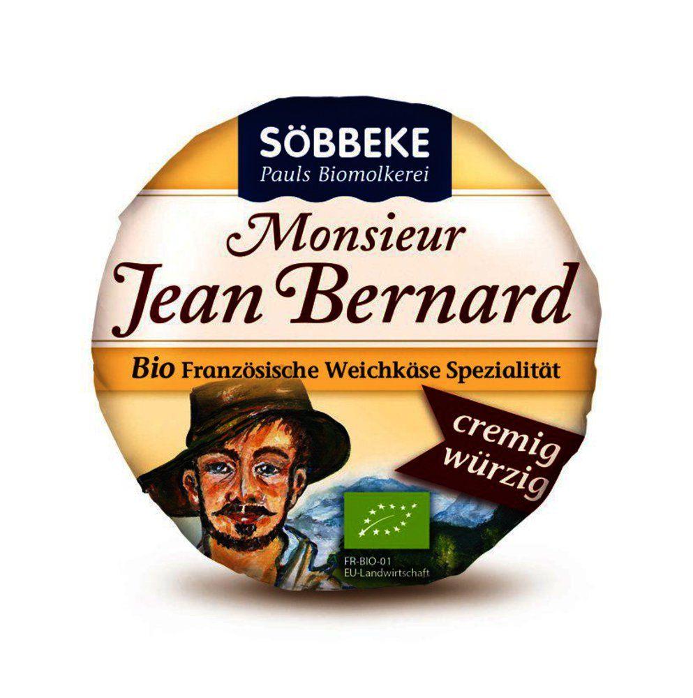 Bio Weichkäse Monsieur Jean Bernard würzig
