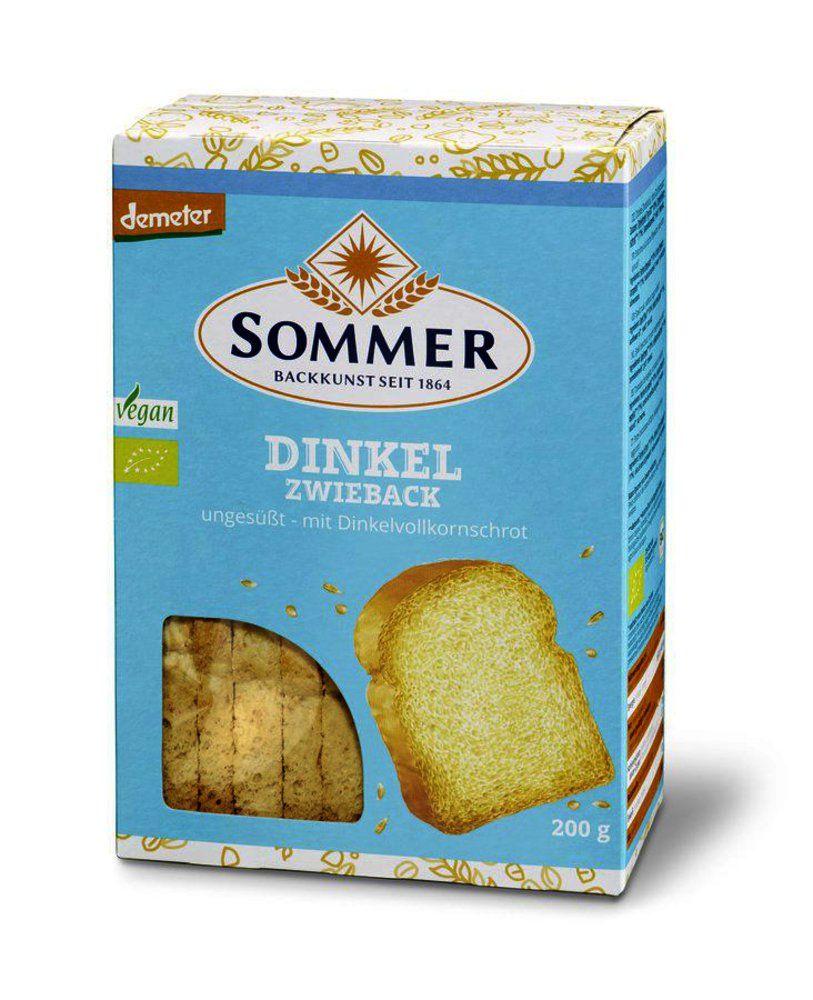 Demeter Dinkel-Zwieback, ungesüßt, vegan