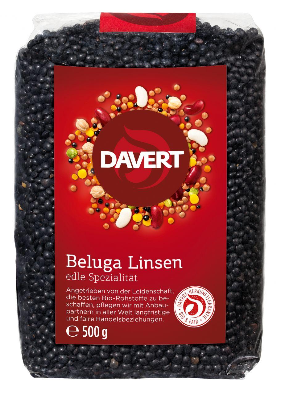 Beluga Linsen, schwarz 500g