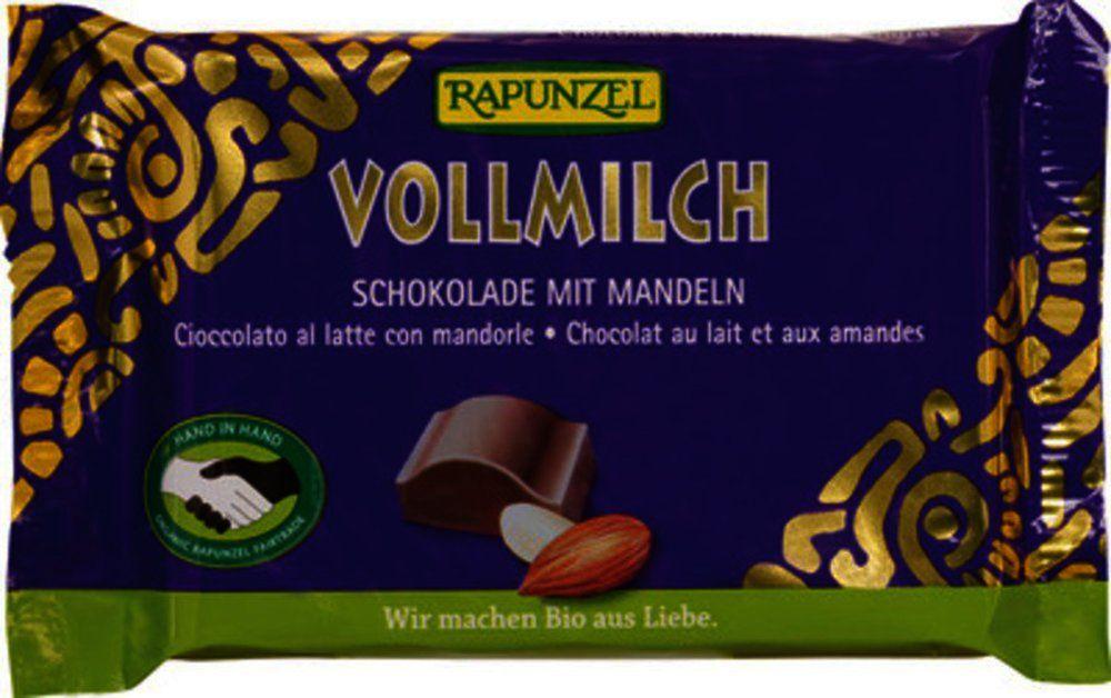 Vollmilch Schokolade mit ganzen Mandeln HIH