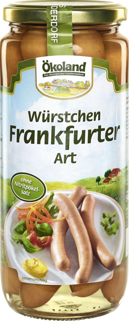 Würstchen Frankfurter Art