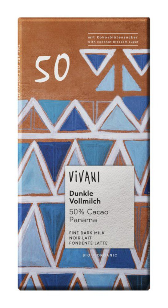 Dunkle Vollmilch 50% Cacao