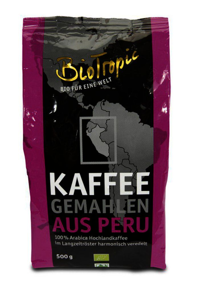 Röstkaffee gemahlen