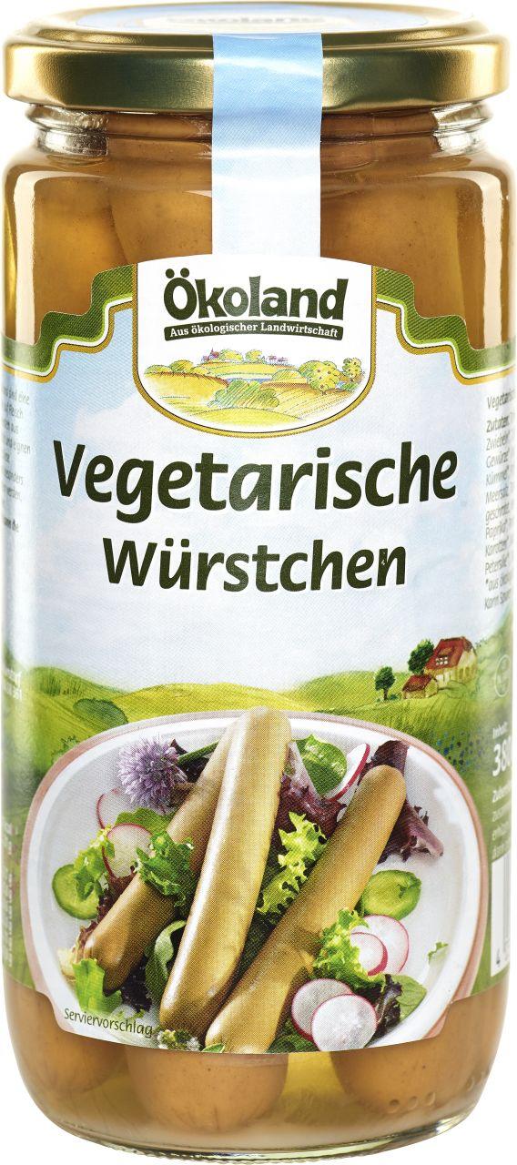 Vegetarische Würstchen