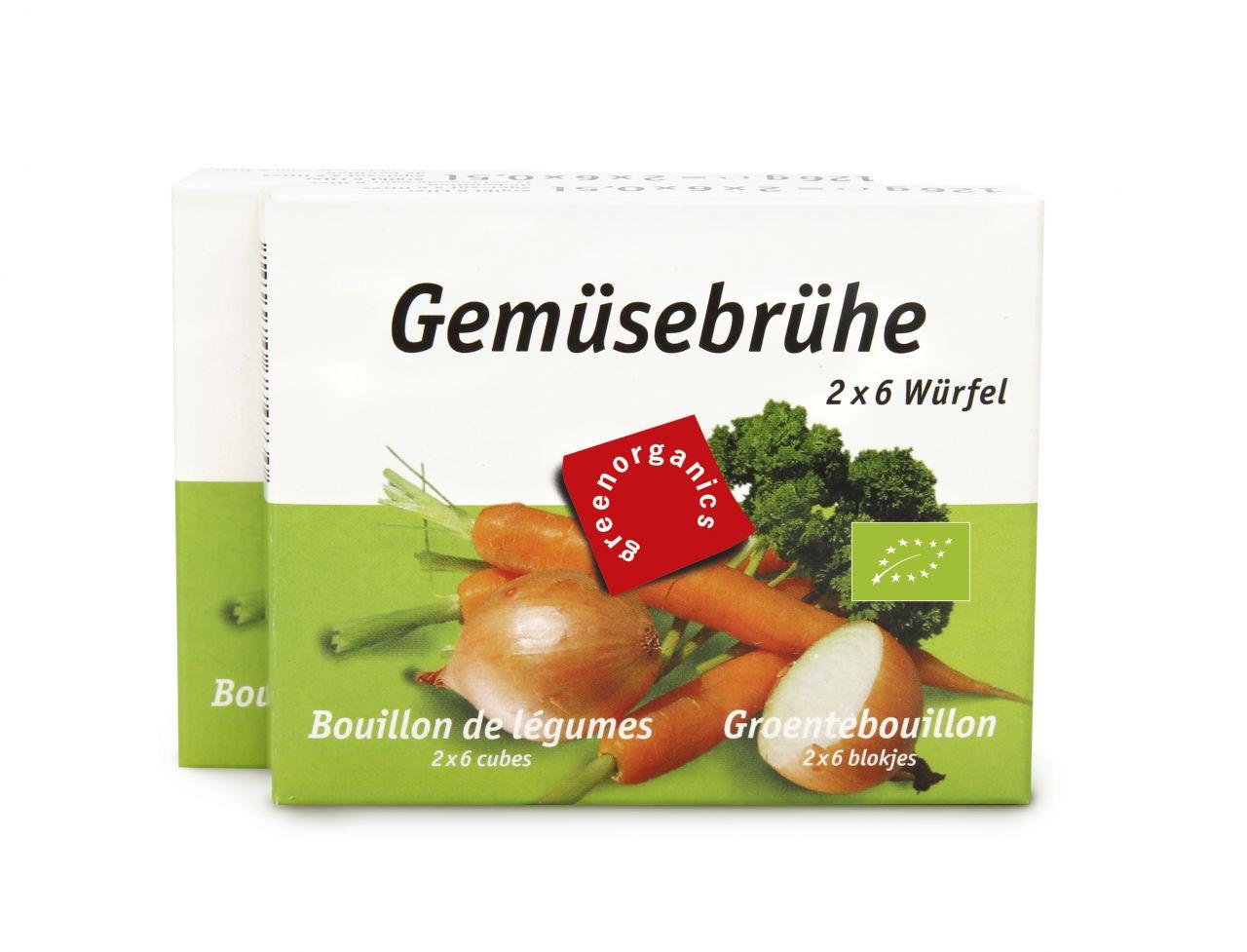 Gemüse-Brühwürfel