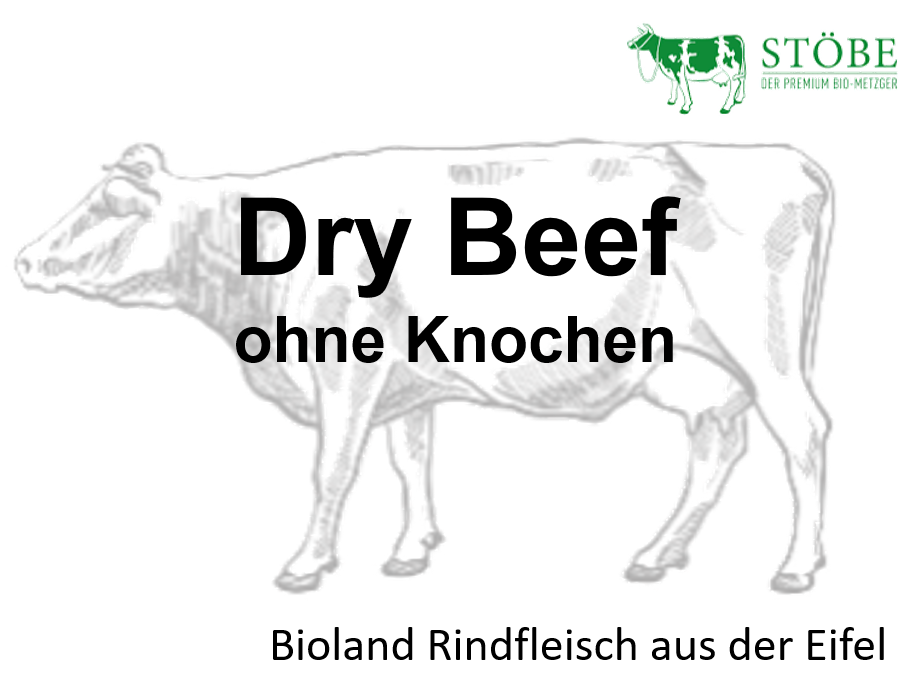 Dry Beef ohne Knochen (Vorbestellung 23. + 24.12.)